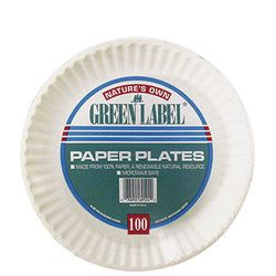 AJM Packaging, PP6GREWH, Dinnerware Plate, Paper, White, 6 in