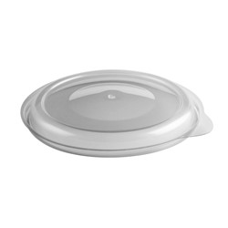 Anchor Packaging, Incredi-Bowl®, 4335800, Bowl Lid, Flat, Clear, #5 Polypropylene