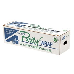 Anchor Packaging, PurityWrap®, 7309482, Premium-Grade Film, 18 in, 2000 ft, Cling Property