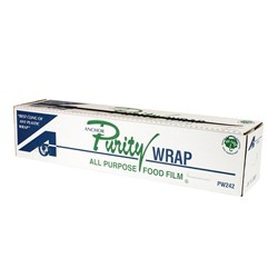 Anchor Packaging, PurityWrap®, 7309442, Premium-Grade Film, 24 in, 2000 ft, Cling Property