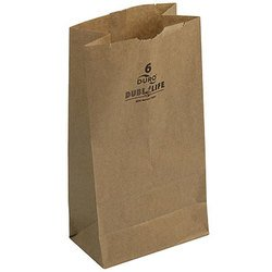 Duro Hilex Poly, Novolex™, 18406, Foodservice Bag, Self Opening, Paper, Kraft