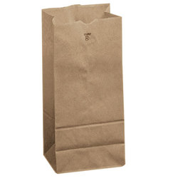 Duro Hilex Poly, Novolex™, 18408, Foodservice Bag, Self Opening, Paper, Kraft