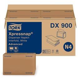 Essity, Tork Advanced Xpressnap®, DX900, Dispenser Napkin, N4 - Xpressnap Napkin System, Recycled Fiber, Paper, Interfold