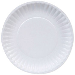 Georgia-Pacific, Dixie Basic®, DBP09W, Light-Weight Paper Plate, Paper, White, 9 in