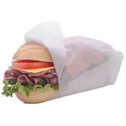 Bagcraft, 16404012, Sandwich Wrap, 12 x 12 in, White, Paper
