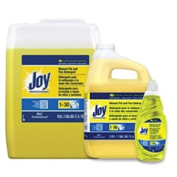 Procter & Gamble, Joy®, 45114, Dishwashing Liquid, 38 oz Bottle, Liquid, Lemon