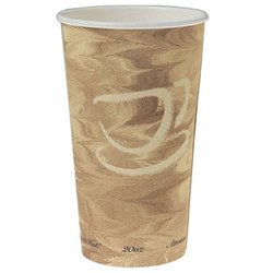 Solo Cup Company, Dart®, 420MS-0029, Hot Cup, 20 oz, Single Sided Poly Paper, Serving Hot Beverages Like Coffee, Tea or Cocoa