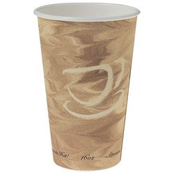 Solo Cup Company, Dart®, 316MS-0029, Hot Cup, 16 oz, Single Sided Poly Paper, Serving Hot Beverages Like Coffee, Tea or Cocoa
