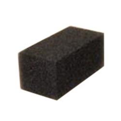 ACS Industries, Scrubble®, GB12-TSH, Grill Brick, Black, 8 x 4 x 3-/2 in, Fiberglass