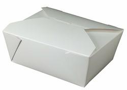 Westrock, Bio-Pak®, 08BPWHITEM, Microwavable Food Container, #8, Paper, White, 6-3/4 in Top, 300 Case per Pack
