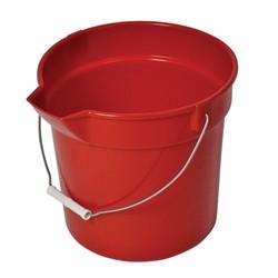 Continental, Huskee®, 8110GY, Bucket, Gray, Polypropylene, Polyethylene