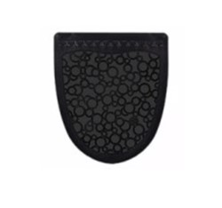 Fresh Products, PSUM-F-000I006M-00, Urinal-Mat, Black/Black, Keeps Floors Clean Around Toilets and Urinals, 6 Piece Per Case, 76 Case Per Pallet