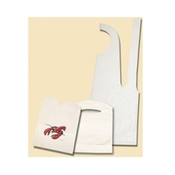 Goldmax Industries, Poly King, 1532-1, Apron, White, 28 x 46 in, 1 mil