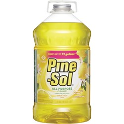 Clorox, Pine-Sol®, 35419, All Purpose Cleaner, 144 fl oz Bottle, Liquid, Lemon, Grapefruit, Floral