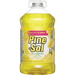 Clorox, Pine-Sol®, 35419, All Purpose Cleaner, 144 fl oz Bottle, Liquid, Lemon, Grapefruit, Floral