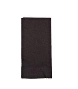 The Paper Company, 51300131, Dinner Napkin, Black, 2 Ply, 15 in