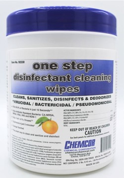92230 One Step Disinfectant Cleaning Wipes