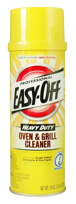 Reckitt Benckiser, Easy-Off®, 4250, Oven & Grill Cleaner, 24 oz Aerosol Can, Liquid, Floral