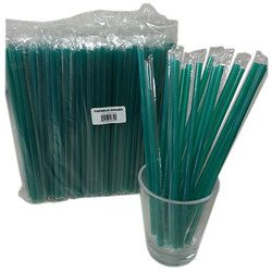 Cell-O-Core, 68170049, Straw, 10.25 in, Green, Compostable