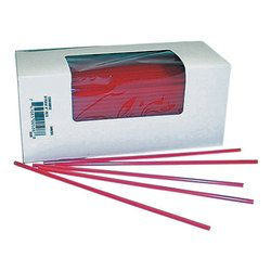 Cell-O-Core, Bunzl, BS8RED, Collins Straw, Unwrapped, Virgin Resin, 5000 Case