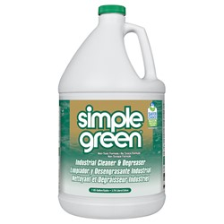 Sunshine Makers, Inc., Simple Green®, 2710000000000, Industrial Cleaner and Degreaser, 1 gal Bottle, Liquid, Added Sassafras