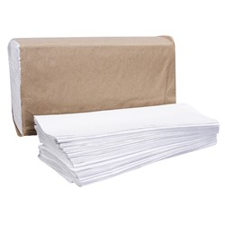 Right Choice White Multifold Towel
