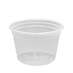 Lollicup, Karat®, FP-IMDC16-PP, Deli Container, 16 oz, 117 mm, Polypropylene