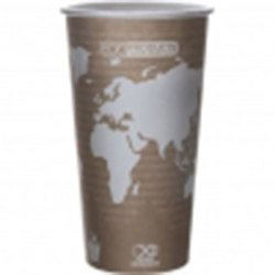 Eco-Products, World Art™, C6670028, Hot Cup, 20 oz, Plastic/Foam