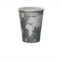 Eco-Products, World Art™, C6670030, Hot Cup, 12 oz, Plastic/Foam
