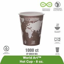 8 Oz Hot Cup