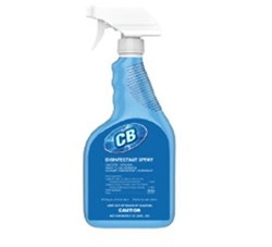 Intercon Chemical, CB, FICCB-6X32-RDIS, Disinfectant Spray, 32 oz, Bottle, Liquid, Mild