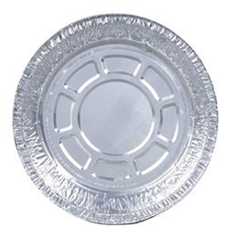American Alupack, 12772, Round Pan, Round, Silver, 500 Case