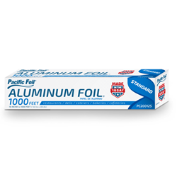 American Alupack, Pacific Foil®, G2459012, Foil Roll, Aluminum, 12 in x 1000 ft, 1 Roll per Case