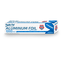 American Alupack, Pacific Foil®, G2450012, Foil Roll, Aluminum, 18 in x 1000 ft, 1 Roll per Case