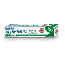 American Alupack, Pacific Foil®, G2450505, Foil Roll, Aluminum, 18 in x 500 ft, 1 Roll per Case