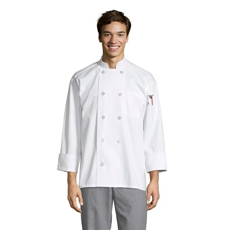 0402Chef Coat 10 Buttons