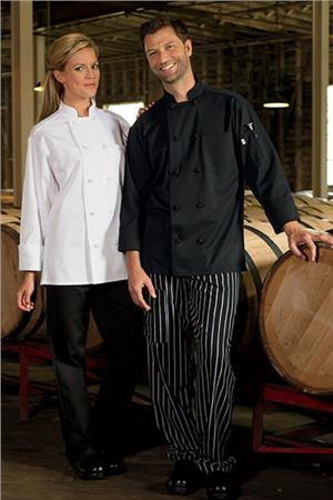 Chef Coat 10 Knot 0403
