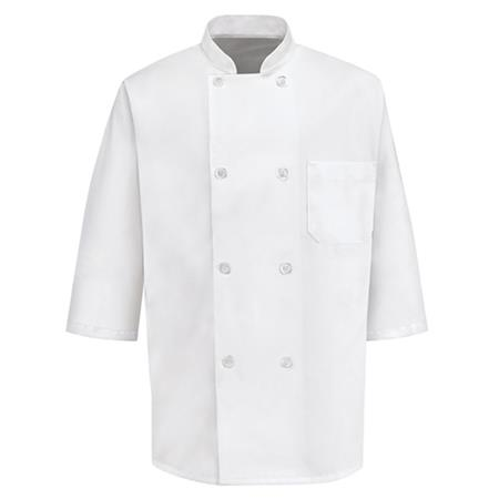 ½ Sleeve Chef Coat 0404WH