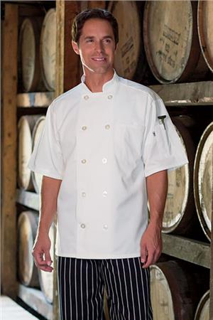 Chef Coat  Short Slvs 0415
