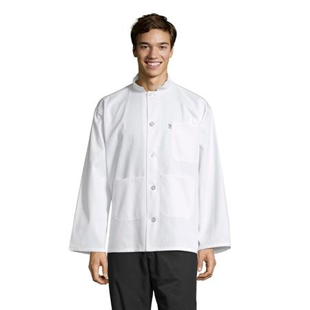 0420 Single-Breasted Server Coat