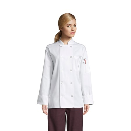 0426 Classic With Mesh Chef Coat