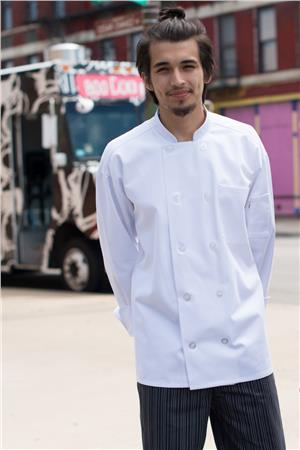 Classic With Mesh Chef Coat 0426