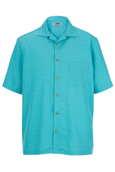 Jacquard Batiste Camp Shirt 1030
