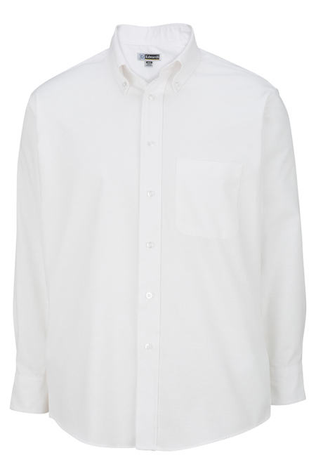 Men's Long Sleeve Oxford Shirt 1077