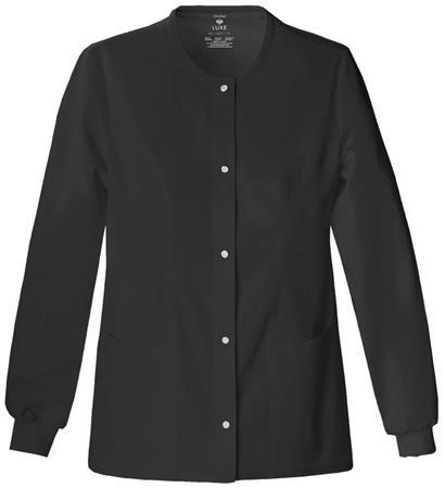 Cherokee Snap Front Warm-Up Jacket 1330