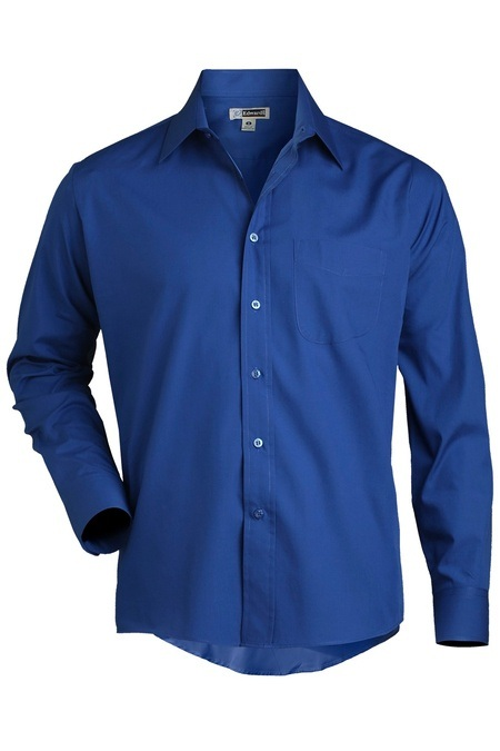 Men's Long Sleeve Value Broadcloth Shirt 1363