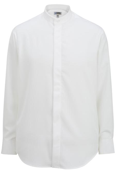 Batiste Banded Collar Shirt 1392