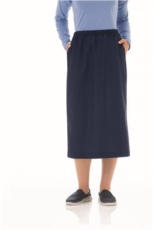Fundamentals Ladies Elastic Waist Skirt 14231