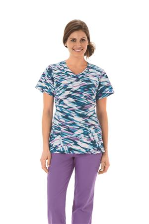Fundamentals Ladies Overlap V-Neck Top 14354