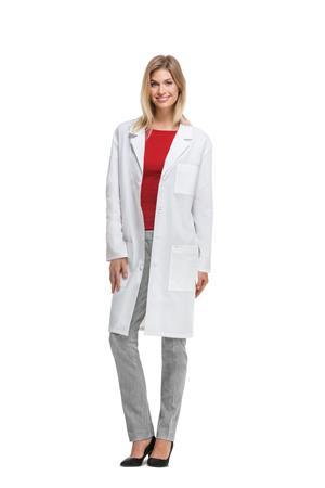 """40"""" Unisex Lab Coat 1446A"""